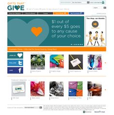 this site allows you to purchase things of all different kinds (THOUSANDS of items) and a portion of the proceeds to to a charity/cause of your choice (THOUSANDS of causes)......so doing this.  www.giftsthatgive.com