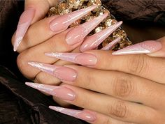 Pink Pattern for Beautiful Wedding Nails