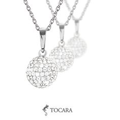 Tocara Louise Necklace | Crystal Fantasy - Sterling Silver - Rhodium plated