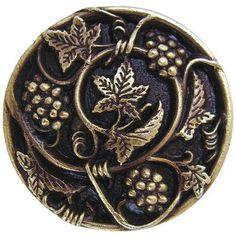 Notting Hill Tuscan Mushroom Knob Finish: Antique Brass
