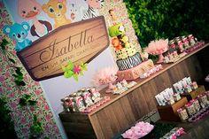 Encontrando Ideias: Festa Safari Pink!!