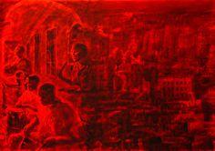 "#ЮрийЕрмоленко ""#IMMIGRATION TO #CUBA"" #painting by #YuryErmolenko 2012 145x1600cm #RapanStudio #ContemporaryArt #art #YuryErmolenko #Ermolenko #Ермоленко #юрийермоленко #ЮрийЕрмоленко #живопись #ермоленко #yuryermolenko #acrylic #picture #painting #art #creative #fineart #contemporaryart #modernart #inspiration #amazing #impressive #metaphysical #wonderful #colorful #exhibition #texture #RapanStudio #cuba #Куба #монументальнаяживопись"