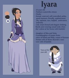 Iyara Reference Sheet by NicoleSt.deviantart.com on @deviantART