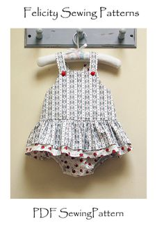 Tinkerbelle Romper for Baby Girls by Felicity by FelicityPatterns, $8.50