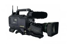 PANASONIC AJ-SDX900 - A rugged, easy to maneuver, DVCPRO ENG camera.