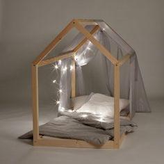 Traumhaus S Kinderbettrahmen ohne Steg