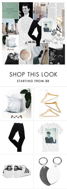 """- we find our worth in giving birth and stuff -"" by same-sunset ❤ liked on Polyvore featuring GET LOST, J.Crew, Honey-Can-Do, Levi's, adidas Originals, Rachel Leigh and tbotss"
