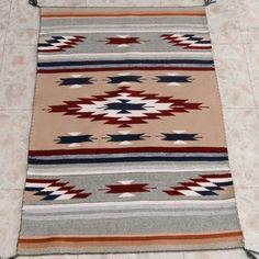 Navajo Diamond Wool Rug 27456 | Alltribes