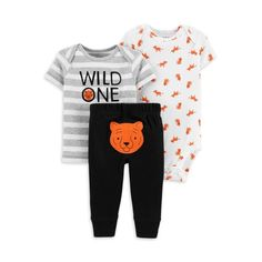 Child Of Mine Made By Carter's Newborn Boys' Set - Tiger Grey Preemie Carters Baby Boys, Baby Boy Newborn, Pants Outfit, Outfit Sets, Boho Baby Kleidung, Boho Baby Clothes, Star Children, Boy Shorts, Future Baby