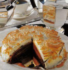 Torta di Crèpes al Cioccolato.