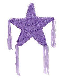 "Purple Star 19"" Pinata by Party Destination. $14.40. Purple Star 19"" Pinata. Save 44% Off!"