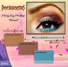 Here's the next Disney inspired look, Pocahontas!