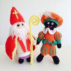 17 Beste Afbeeldingen Van Haken Sinterklaas Amigurumi Amigurumi