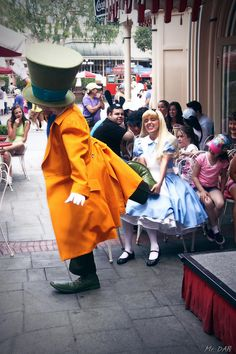 Alice and Mad Hatter Fight Over a Shoe
