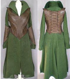 The Hobbit Cosplay Tauriel Costume
