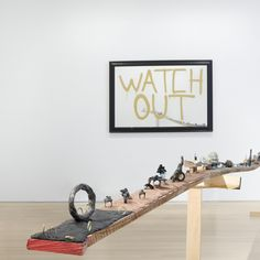 Installation view of Karl Fritsch at Salon 94. Courtesy of Salon 94.-Wmag