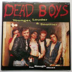 The Dead Boys - Younger, Louder & Snottier LP Record Vinyl - BRAND NEW #deadboys