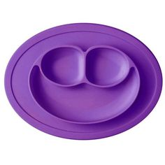New Toddler Baby Kids Food Placemat One-Piece Silicone Divided Dish Bowl Plates Baby Feeding Food Placemat