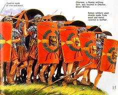 roman soldiers in testudo formation