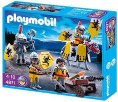 Playmobil Lion Knights Troop by Playmobil. $23.25. 9.8 x 7.9 x 2 inches. Lion Knights Troop. 4 years +. Save 47% Off!