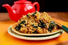 Must Try Kale Fried Rice from Iowa Girl Eats