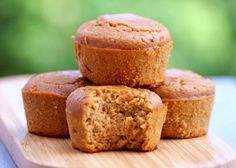 Healthy Coffee Protein Muffins | 12 Coffee Dessert Recipes For Caffeine Enthusiasts by Homemade Recipes at http://homemaderecipes.com/12-coffee-desserts/