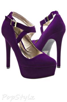 """Qupid MARQUISE09 Stiletto Pumps...probably a little TOO """"stiletto"""", but fiercely stylish anyway:)"""