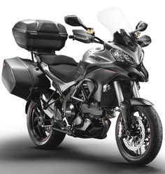 Ducati Multistrada1200S. A Ducati that can leave the pavement...