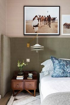 Wraparound Headboards: The Sexy, Unusual Bedroom Detail We Love | Apartment Therapy