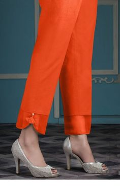 Zeen orange pants | Inspiring Ladies
