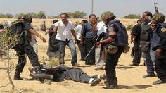 الجيش المصري يعلن قتل 10 مسلحين في العريش