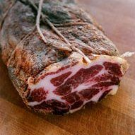 Capocollo from Boccalone. My second favorite thing they make.