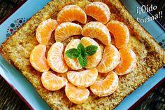 ¡¡Oído cocina!!: Pastel de queso con mandarinas y galletas