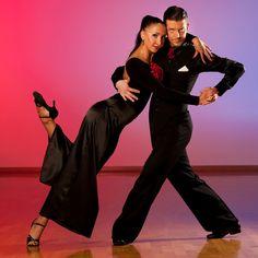 Professional Ballroom Dance Couple