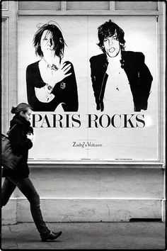 Zadig & Voltaire - poster PARIS ROCKS!!! #JetSetBeauty