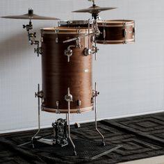 I love this walnut/poplar/walnut kit from C&C drums.