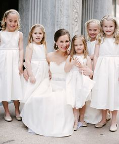 #FlowerGirls | Photography by Brett Heidebrecht | See the wedding on SMP:  http://www.StyleMePretty.com/2013/10/11/wiup-oklahoma-city-wedding-from-brett-heidebrecht-winners/