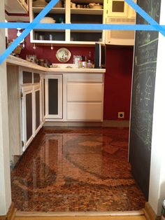 penny kitchen floor 1000 images about copper floors and other copper 1461