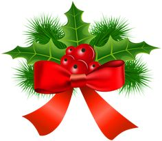 Christmas Holly Transparent PNG Clip Art