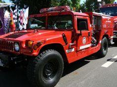 LAFD Hummer Brush Vehicle