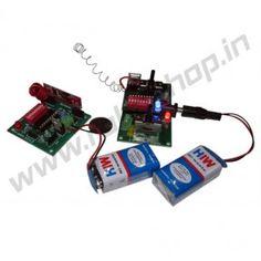 Wireless Remote Control 4 Channel @http://www.roboshop.in/wireless?product_id=333