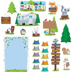 Make School Feel Like Adventure Camp With The Woodland Friends                                                                                                                                                      More