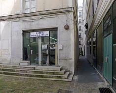 Paris 2e - Le passage Lemoine, une succession de couloirs étroits et de placettes