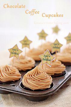 chocolate coffee cupcakes by RoxanaGreenGirl | Roxana's Home Baking, via Flickr