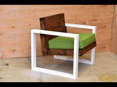 In this instructable I made this modern chair for more info and extend step by step instruction check out the video. Enjoy. Click here to follow me on Instagram