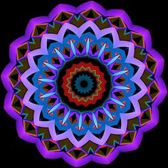 douceur ; sweetness ; doçura Mandala de Pierre Vermersch Digital Drawings