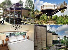 #Thailand : #Bangkok Tree House, hier wil ik echt - maar dan ook echt he - zo graag heen!