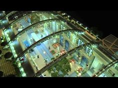 The world's first temperature-controlled city, Mall of the World, located along Sheikh Zayed Road in Dubai. Occupying a total area of 48 million sq. Shopping Dubai, Dubai Mall, Abu Dhabi, Shopping Center, World Expo 2020, Dubai Real Estate, Study Room Design, Roof Detail, Famous Architects
