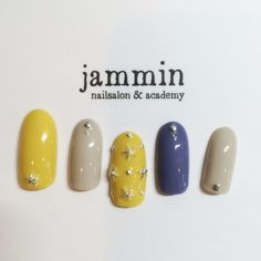 """イエロー""の使い方が勝負を分ける!先取り初夏を楽しむネイル特集 