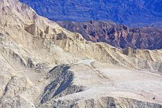 Photograph by Stuart Litoff.  Two hikers on the Gower Gulch Loop trail in Death Valley National Park.